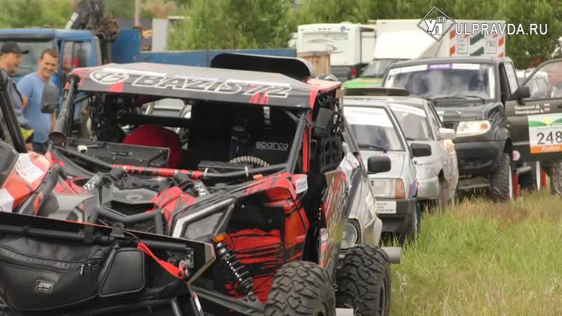 Гонщики испытали себя на «Холмах России» в Ульяновской области