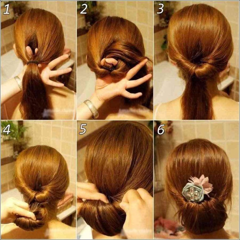 Как самостоятельно сделать себе причёску