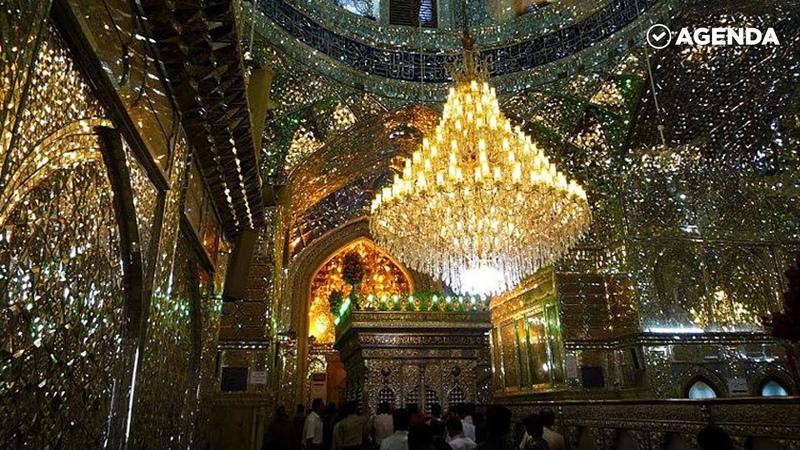 Зеркальная мечеть Шах-Черах в Иране / Beautiful Shah Cheragh Mosque Iran Shiraz