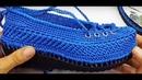 Sırma Patik Ve Örgü Ayakkabı Modeli Yapımı