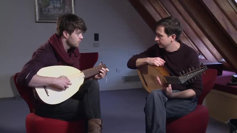 Джоуи Бейти (Лютик) | Обучение игре на лютне