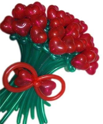 №338. Букет из шариков «Безумная любовь»