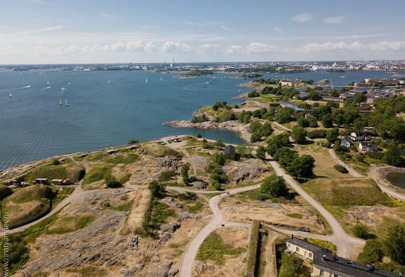 фотограф в Хельсинки снял крепость суоменлинну