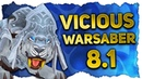 New Vicious Warsaber PvP Mounts White Black Vicious Warsaber BfA 8.1 Tides of Vengence