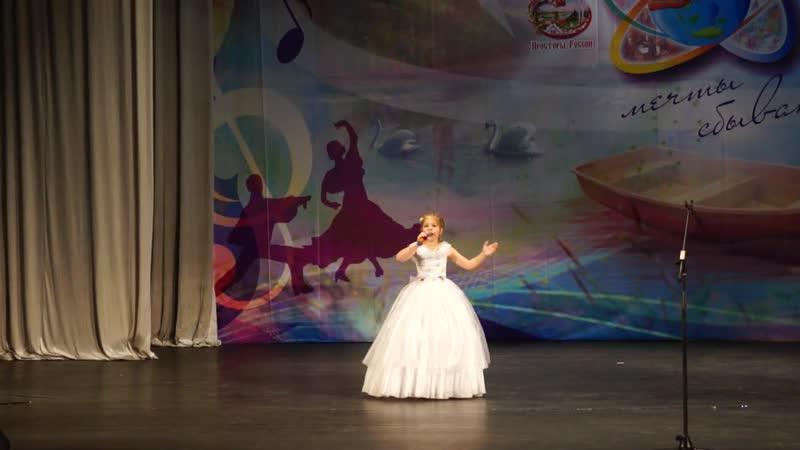 Третьякова Даша - «Сны как бабочки цветные» (Э. Путилова)
