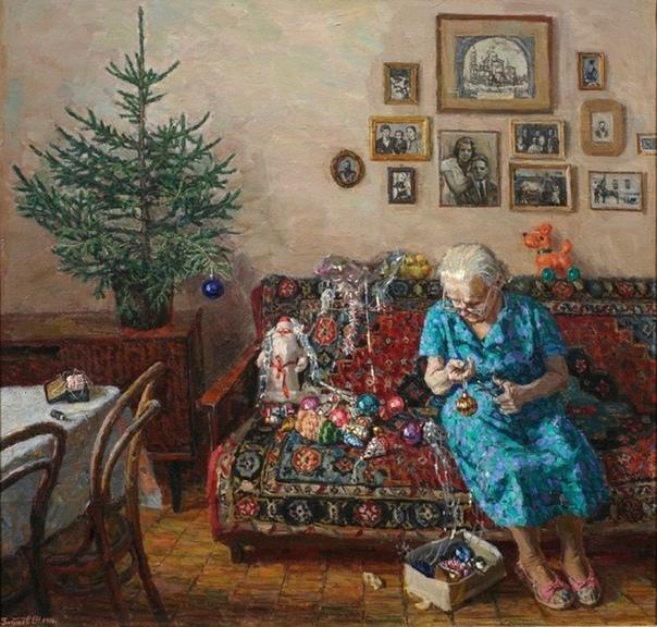 История одного шедевра. «Рождественская елка», Зайцев Егор Николаевич