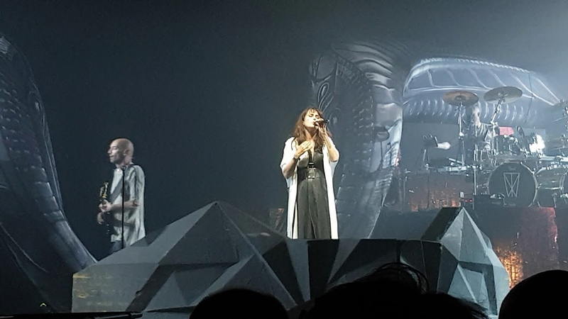 WITHIN TEMPTATION - MANCHESTER APOLLO - RAISE YOUR BANNER - OPENING