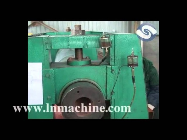 580mm Soild roller expanded metal flattening machine