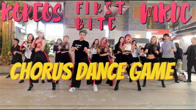 Public KPOP Chorus Dance Game ft. Koreos MKDC FirstBite