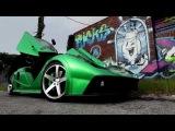 Miami GT Custom Car on Concavo CW-5 Deep Concave Wheels / Rims