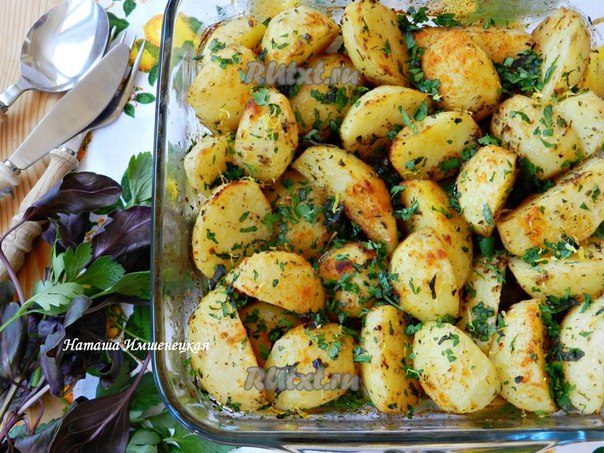 Вкусный картофель рецепт
