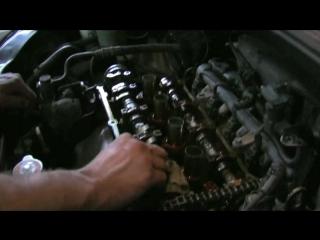 Замена цепи ГРМ на Hyundai Getz 1.4