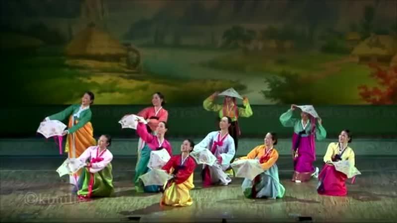 朝鮮舞踊 踊る舞姫達 조선무용 《춤추는 무희들》 2013