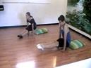 Урок 24. Прыжки в упор высоким углом. Элементы акробатики