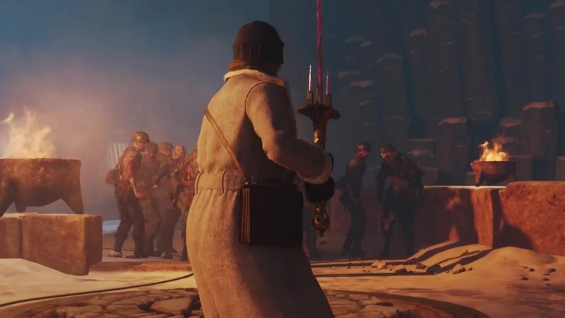 Новая глава нацистских зомби The Tortured Path для игры Call of Duty: WWII!