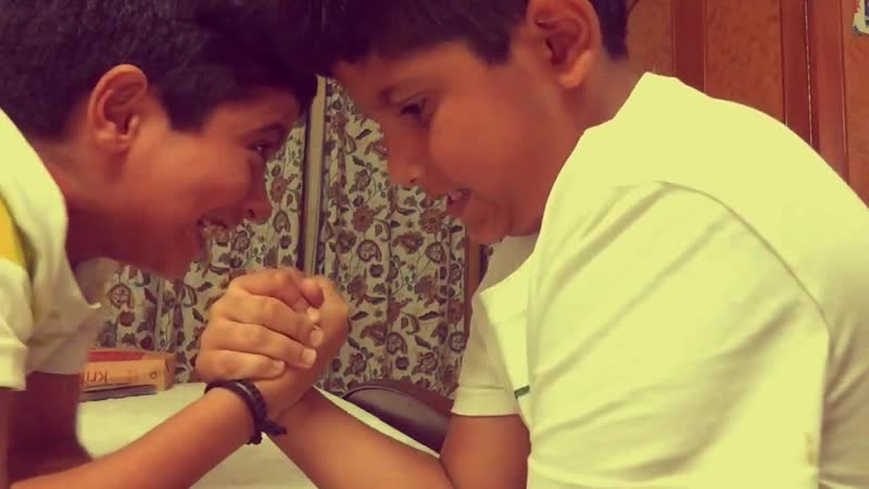 Arm Wrestling Kids