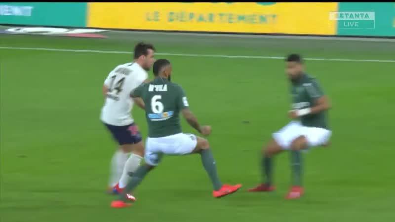 Сент-Этьен 0:1 ПСЖ | Французская Лига 1 2018/19 | 24-й тур | Обор матча