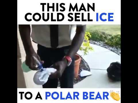 This Man Could Sell Ice To A Polar Bear...