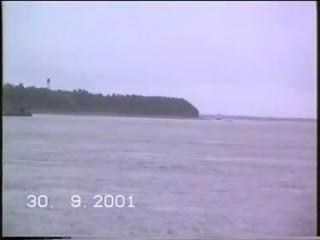 Река Мезень 30.09.2001 видео из контакта.