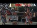 Уличные музыканты индейцы