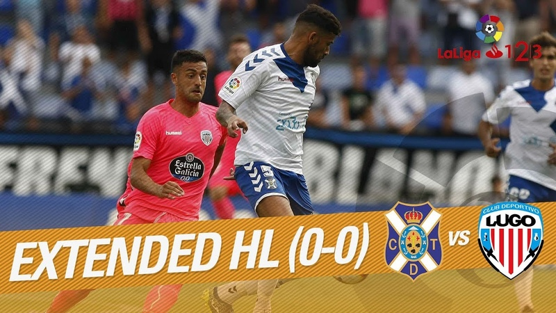 CD Tenerife vs CD Lugo (0-0) - Extended Highlights