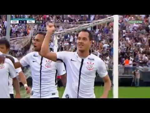 GOLAÇO DE RODRIGUINHO Corinthians 2 x 0 Palmeiras Campeonato Paulista 2018
