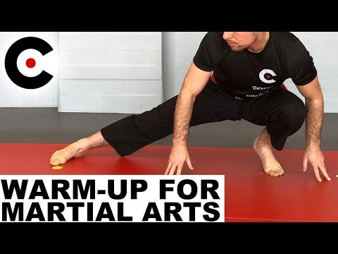 Full Body Warm Up for Martial Arts Striking Grappling Wrestling EMA