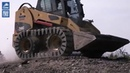 Skid Steer Loaders tracked performance with Camso over the tire tracks OTT