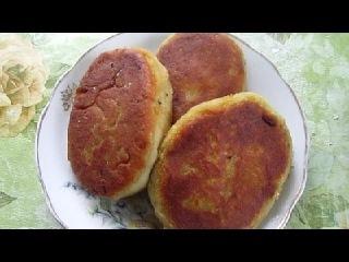 Жареные Картофельные Пирожки с Капустой без Яиц!