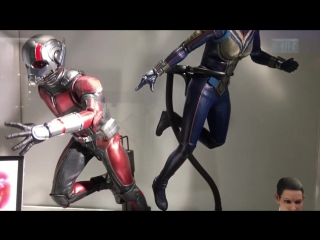 Hot toys mms497 and mms498: ant-man and the wasp 1/6 prototype