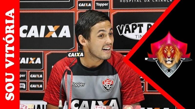 Em coletiva: Meli se diz adaptado e revela: Achava que o futebol brasileiro era mais louco