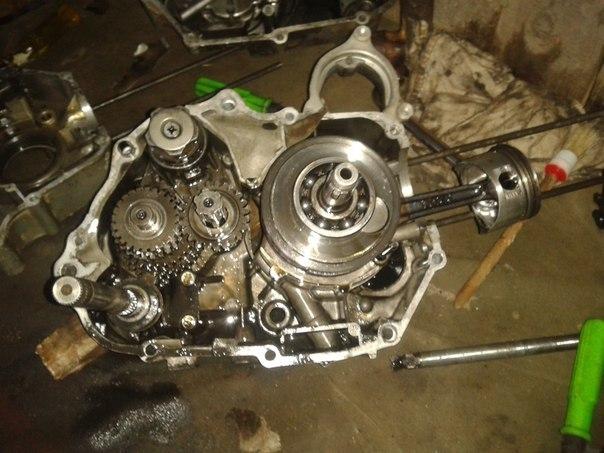 Схема двигатель альфа