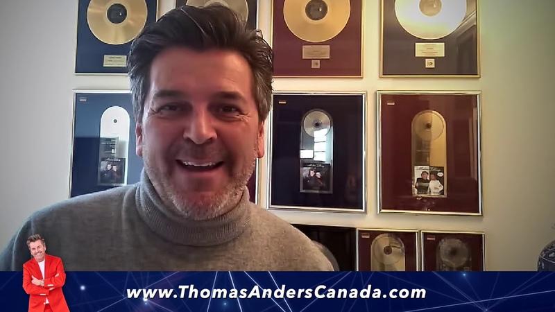 Thomas Anders Modern Talking Band Featuring Bad Boys Blue - Thomas Message