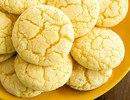 Лимонное печенье на кефире