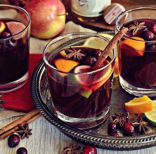 Рецепт ароматного безалкогольного глинтвейна Ингредиенты: - 4