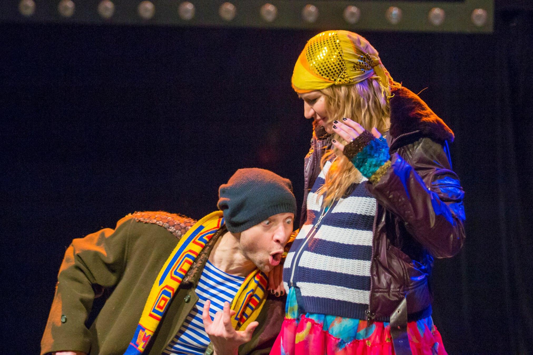 Спектакль  «Двое бедных румын, говорящих по-польски» в Театре Луны