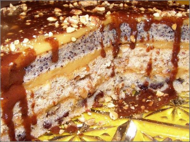 Белковая прослойка для торта