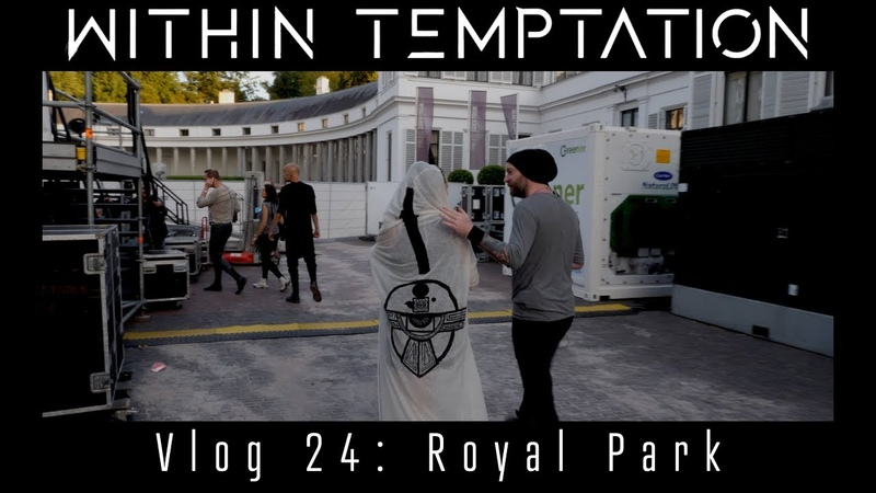 Within Temptation Vlog 24 Royal Park and Anneke van Giersbergen tells a funny anecdote