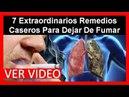 7 Extraordinarios Remedios Caseros Para Dejar De Fumar, Consecuencias Del Tabaquismo, Dejar De Fumar