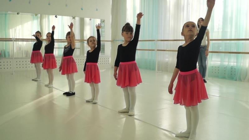 Ласточки открытый урок по классическому танцу