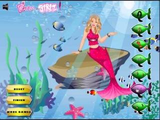 Игры про Барби Русалку (Barbie Mermaid)