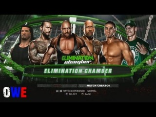 WWE 13 CM Punk vs. Ryback vs. Ken Shamrock vs. The Rock vs. John Cena vs. Roman Reigns