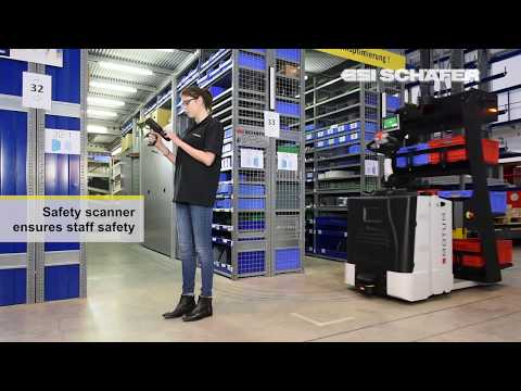 Автоматическая тележка комплектовщик AGV 2Pick