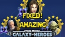 Bastila Shan FIXED Jedi Are AMAZING Now Star Wars Galaxy Of Heroes SWGOH