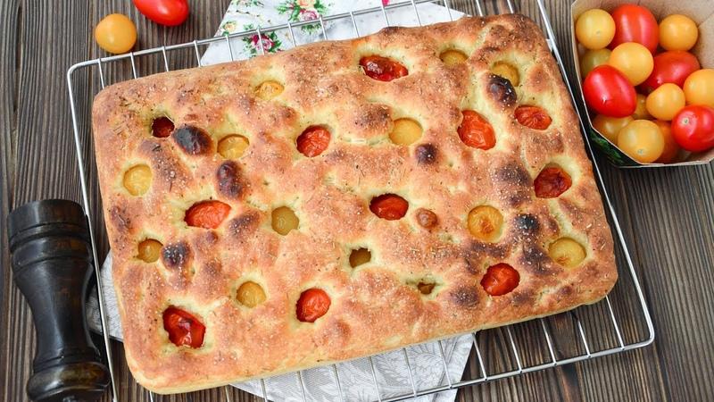 ФОКАЧЧА ☆ Рецепт для ЛЕНИВЫХ ☆ Italiana FOCACCIA ricetta