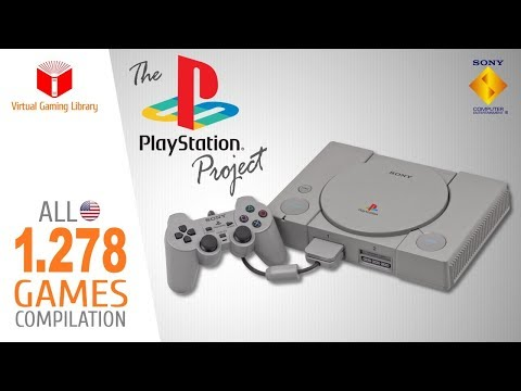 The PlayStation Project - All 1278 PS1PSXPSOne Games - Every Game (USANTSC-U)
