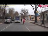 Велосипедист в Симферополе