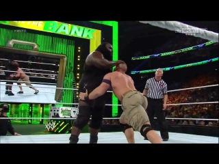 (WWEWM) Money in the Bank 2013 - John Cena (c) vs. Mark Henry (WWE Championship)