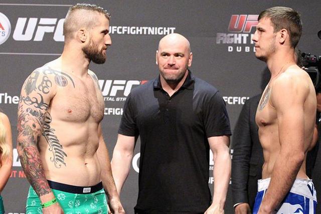 Никита Крылов - Коди Донован UFC Fight Night Dublin