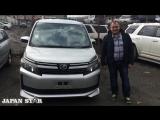 Отзыв нашего клиента о покупке Toyota voxy
